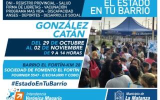 Estado en tu Barrio en Gonzalez Catán