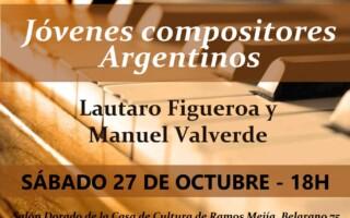 """""""Clásica al atardecer"""" Concierto de Jóvenes Compositores"""