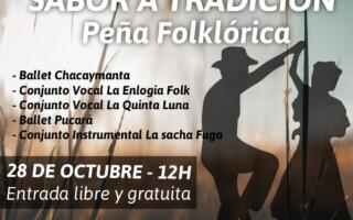 """Ciclo de peñas municipales Presenta: """"Sabor a Tradición"""""""