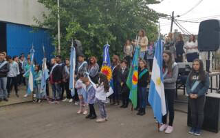 Villa Luzuriaga: la escuela Islas Malvinas celebró 50 años