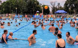 Personas con discapacidad participan de las colonias de verano