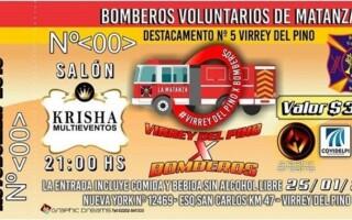 Segundo evento a beneficio de Bomberos Voluntarios de Virrey del Pino