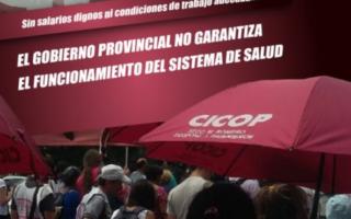 """Profesionales de la salud le reclaman a Vidal un """"mecanismo automático de actualización salarial"""""""