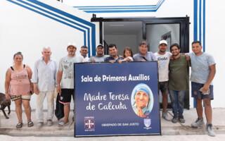 Isidro Casanova: inauguraron una sala de primeros auxilios