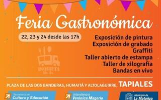 """El festival gastronómico """"Inquieta Buenos Aires"""" desembarca en Tapiales"""
