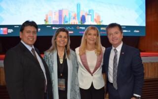 Verónica Magario encabezó en Chile la Comisión sobre Municipios, Género y Equidad