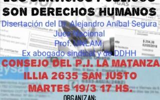 Los Servicios Públicos son Derechos Humanos