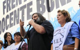 En el inicio de clases, los docentes bonaerenses paran por 72 horas y se suman a una huelga nacional