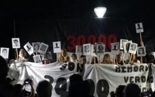 Miles de matanceros participaron de lo que fue otra histórica vigilia por el 24 de marzo