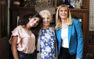 Verónica Magario y Subsecretaría de DDHH: firma de convenio con Abuelas de Plaza de Mayo