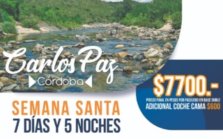 Semana Santa Villa Carlos Paz