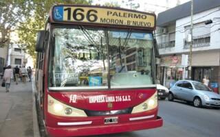 Extendieron el recorrido de la línea 166 hasta Ciudad Universitaria