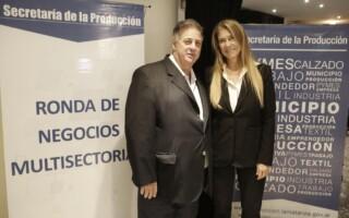 Débora Giorgi encabezó la 1º Ronda de Negocios de la Cadena de Valor de la Industria Alimenticia