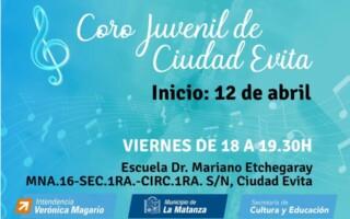 Coro juvenil de Ciudad Evita