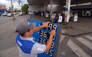 Desde este lunes, rige un nuevo aumento en las naftas