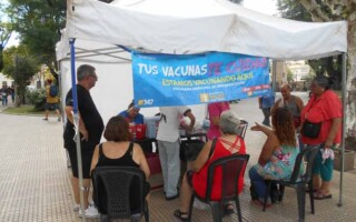 Comenzó la campaña de vacunación antigripal en el Distrito