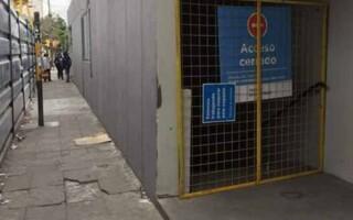 Por obras y remodelación, cerraron el túnel peatonal de la estación Ramos Mejía