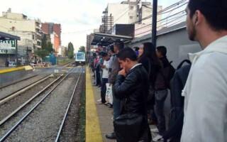 Tren Sarmiento: denuncian que «el sistema de señalamiento está colapsado»