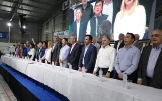 El PJ homenajeó a Alberto Balestrini con fuertes críticas a Cambiemos