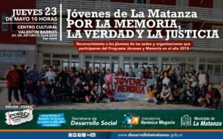 Jóvenes de La Matanza por la Memoria, la Verdad y la Justicia