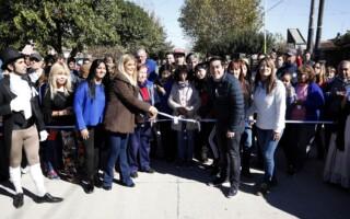 Verónica Magario visitó el Municipio de Malvinas Argentinas junto al intendente Leonardo Nardini