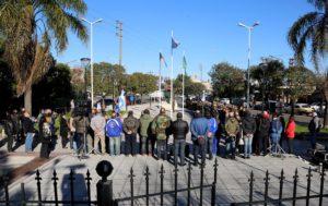A 37 años del hundimiento del Crucero General Belgrano, homenajearon a soldados caídos y veteranos