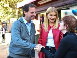 Visita de campaña: Magario recorrió Escobar y se reunió con el intendente Ariel Sujarchuk