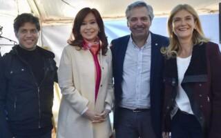 Cristina subió una sugestiva foto que alimenta los rumores de la fórmula Kicillof-Magario en la Provincia