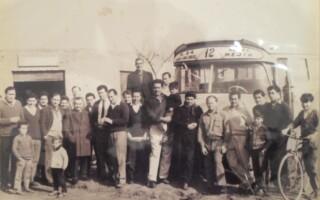 Los primeros colectivos en Rafael Castillo