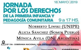 Jornada por los derechos de la primera infancia y la pedagogía comunitaria en La Matanza