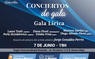 """Gala Lírica"" en Ramos Mejía"