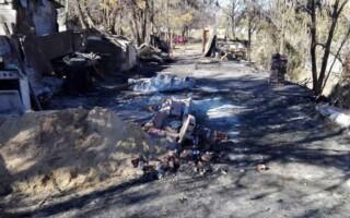 González Catán: una familia perdió su casa en un incendio y necesitan donaciones