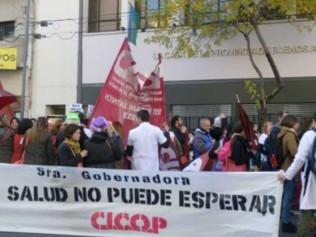 Salud pública bonaerense: CICOP llevará a cabo un nuevo paro de 48 horas