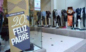 No hay repunte: en el Día del Padre, las ventas en los comercios de San Justo cayeron 45 por ciento