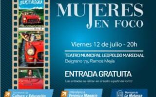 """El ciclo de cine Mujeres en Foco proyectará """"Locas de alegría"""""""