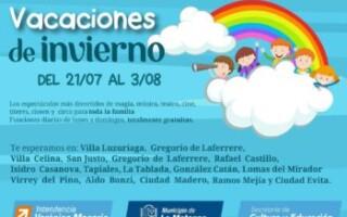 ¡Vacaciones de Invierno 2019! Espectáculos gratuitos para toda la familia en La Matanza