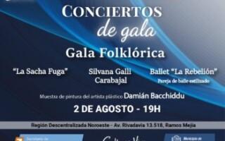 """Conciertos de Gala presenta """"Gala Folklórica"""""""
