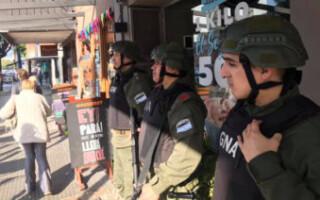 Gendarmería Nacional comenzó a patrullar en el centro de Ramos Mejía y otras zonas del primer y segundo cordón del Partido