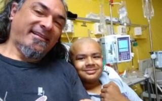 Lautaro ya se prepara para el trasplante de médula ósea