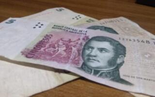 En febrero, saldrá de circulación el billete de cinco pesos