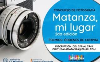 """Se abre la inscripción para la segunda edición del concurso de fotografía """"Matanza, mi lugar"""""""