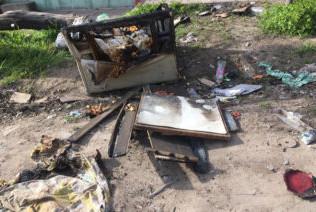 Isidro Casanova: se incendió una vivienda por una vela encendida