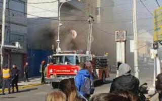 San Justo: se incendió una cámara eléctrica de Edenor