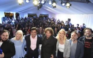 Alejandro Dolina se presentó en La Feria del Libro de  La Matanza