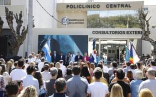 Magario y Espinoza inauguraron los nuevos consultorios externos del Policlínico de San Justo