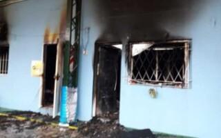 Se incendió un jardín en González Catán: sus autoridades denunciaron vandalismo
