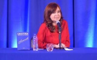 Cristina postergó la presentación de su libro en La Matanza: será el 21 de septiembre