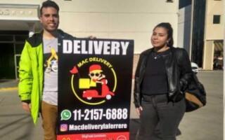 «Mac Delivery», un original emprendimiento de jóvenes matanceros para Laferrere