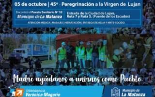 El Municipio de La Matanza presente en la  Peregrinación a Luján