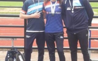 Jóvenes de La Matanza se clasificaron a los campeonatos nacionales de Atletismo